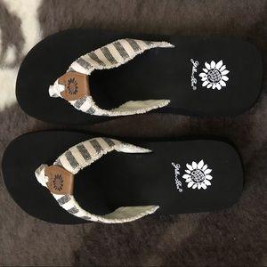 BRAND NEW yellow box sandals